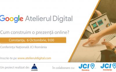 Atelierul Digital Google – Cum construim o prezență online?