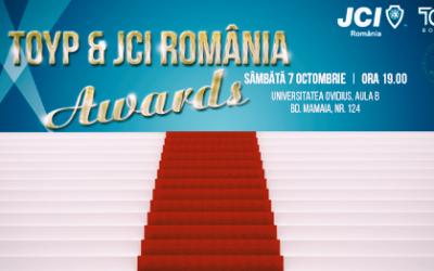 Gala TOYP & JCI România AWARDS pentru prima dată la Constanța pe 7 octombrie